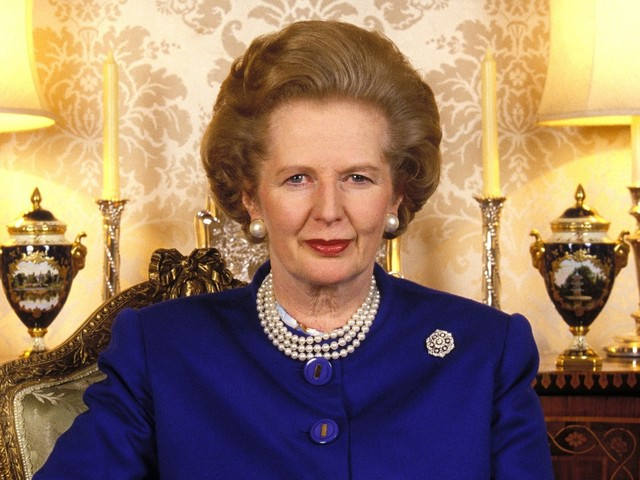 Papers released of Margaret Thatcher being briefed on punk in 1987
