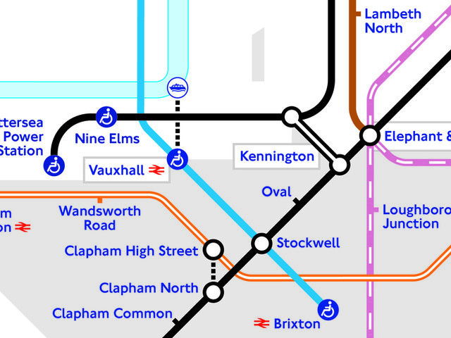 New Tube Map Released Featuring Battersea Power Station And Nine Elms
