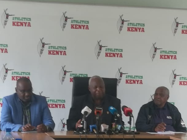 Athletics Kenya President claims pleased so many top runners being banned for doping