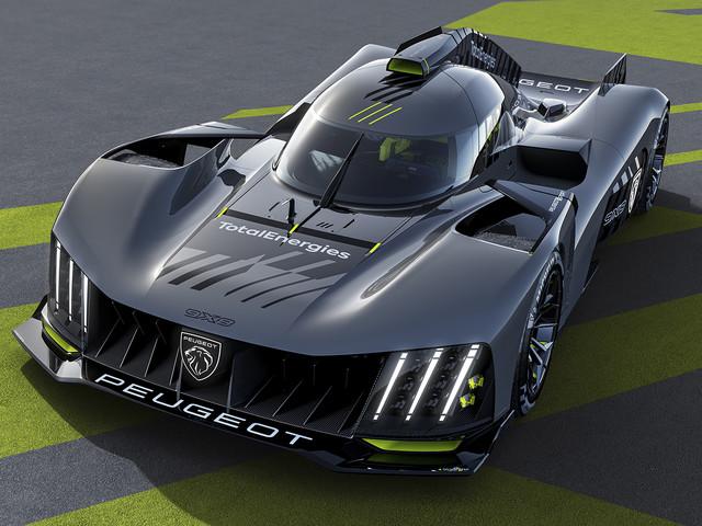 Peugeot reveals 9X8 hypercar for 2022 Le Mans