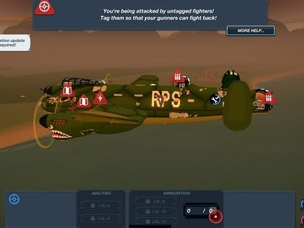 I am so bad at Bomber Crew I failed to drop any bombs