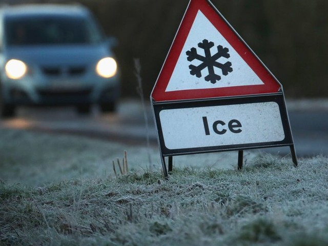 Ice warning as temperatures set to plunge again - and snow could return