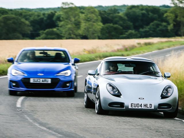 Subaru BRZ vs TVR T350: £30,000 performance coupes face off