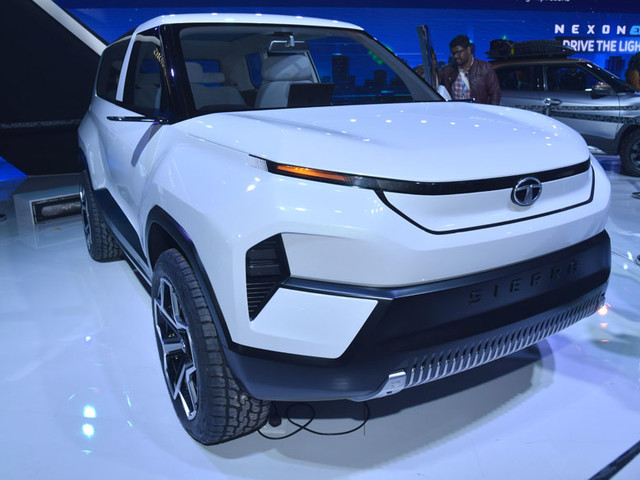 Tata Sierra Concept could go into production