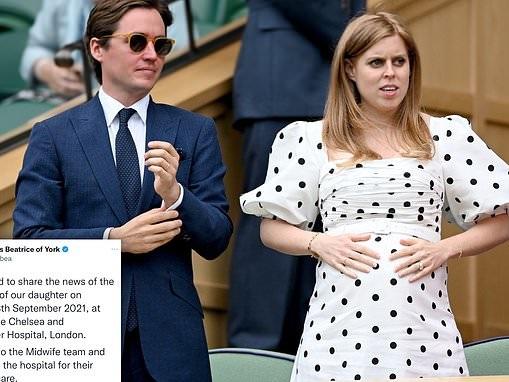 Princess Beatrice gives birth
