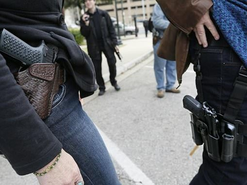Three million Americans carry a handgun daily: study