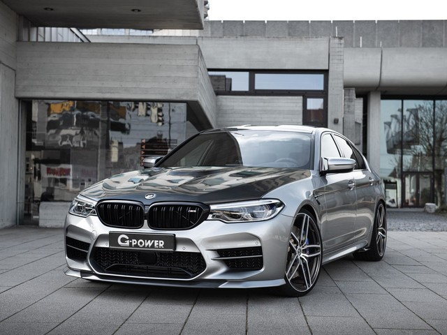 G-POWER BMW G5M HURRICANE RR makes 900 hp and has top speed of 366 km/h