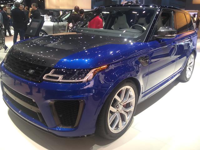 2018 Range Rover Sport and P400e showcased in LA