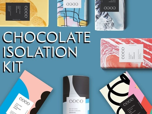 Confection Isolation Kits - COCO's Chocolate Isolation Kit Boasts Bestsellers from the Brand (TrendHunter.com)