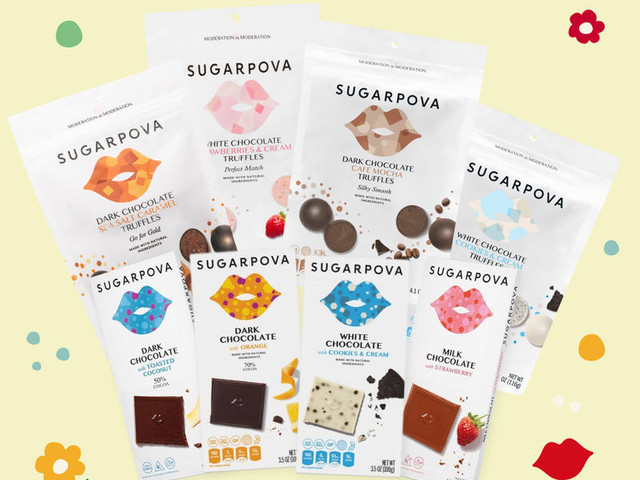 Tennis-Inspired Chocolate Bundles - Sugarpova Launched a Chocolate Love Bundle for Father's Day (TrendHunter.com)