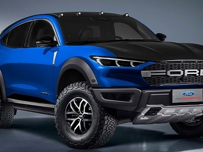 """Ford Mustang Mach-E """"Raptor"""" Isn't Your Typical EV Rendering"""