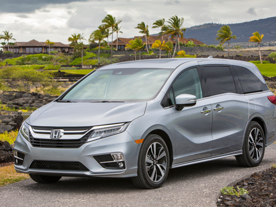 2018 Honda Odyssey Earns Highest Safety Ratings from Both Agencies
