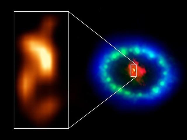 A neutron star might be hiding as a 'blob' inside massive stellar explosion - CNET