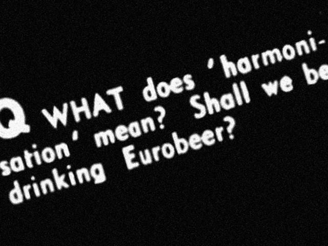 Q&A: Harmonising European brewing methods, 1973