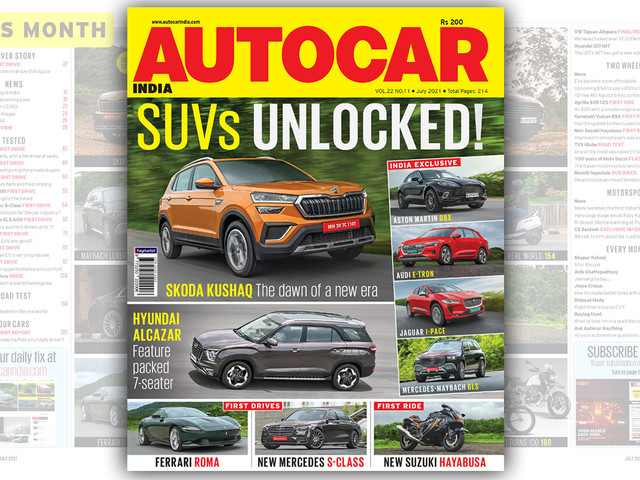 Autocar India July 2021 issue on stands