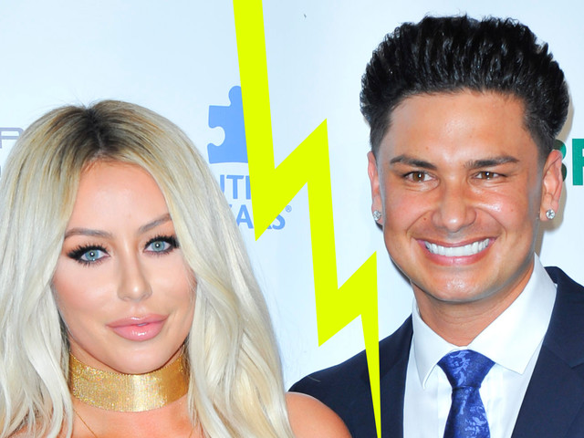 Aubrey O'Day & DJ Pauly D Split After a Year & a Half of Dating