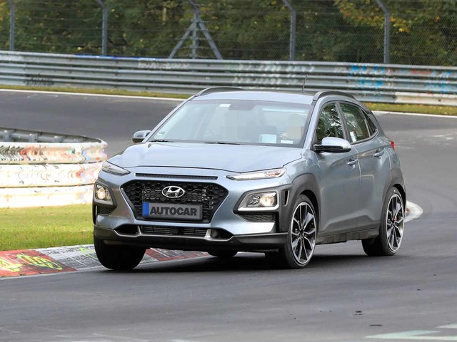 Video: Hot Hyundai Kona N seen testing at the Nurburgring