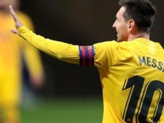 Barcelona rests Messi, De Jong in Champions League match