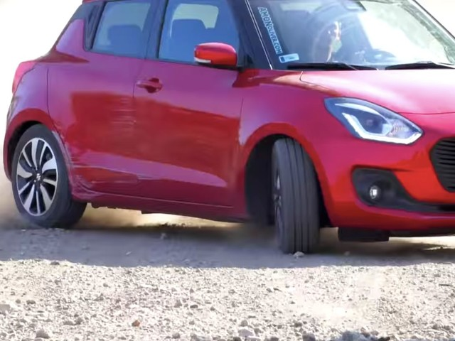 VIDEO: Watch the New Suzuki Swift Being Pushed To The Max In This Gymkhana Style Footage!
