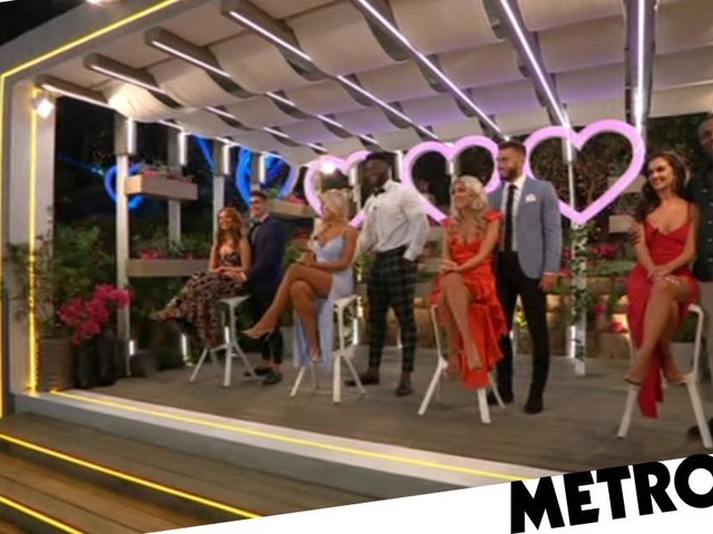 Love Island: Jess Gale and Ched Uzor are finish in fourth place as they become first couple to leave the villa in live final