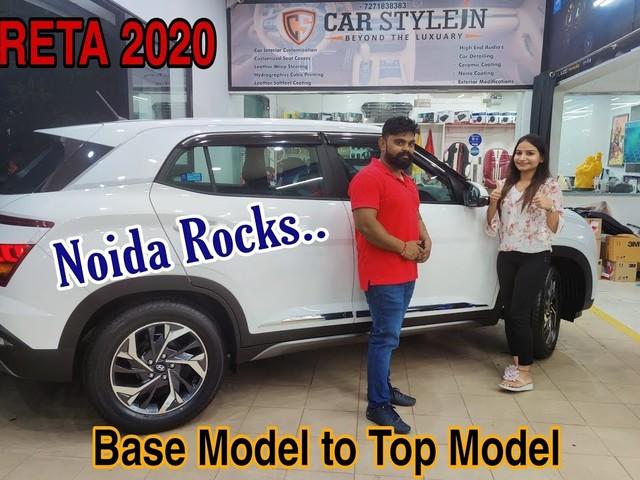 2020 Hyundai Creta Base Model Modified Into Top Trim