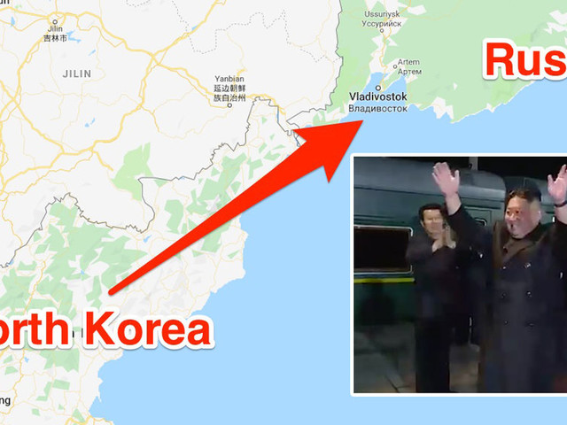 Kim Jong Un rode his bulletproof armored train from North Korea to Russia's extreme east for his first-ever meeting with Vladimir Putin