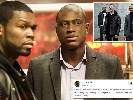 50 Cent leads tributes as crew member for his Starz series Power struck by a car and killed on set