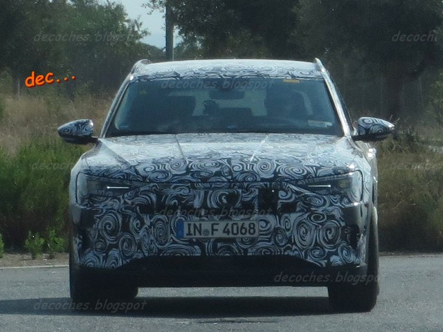 Audi e-tron electric SUV spied testing, to debut in early 2018 – Report