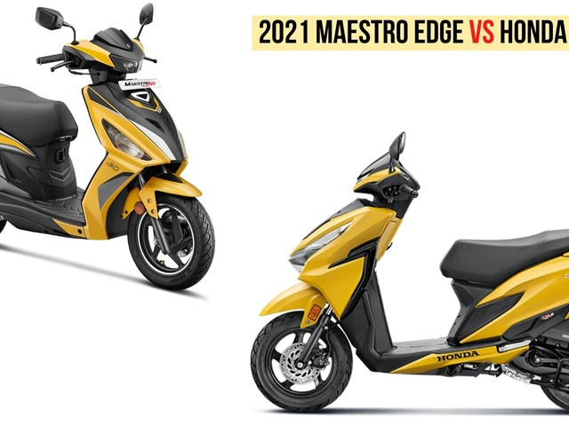 2021 Hero Maestro Edge 125 VS Honda Grazia 125 – Specs Comparison