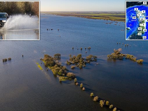 UK weather: Britain is told to brace for floods with 108 warnings and alerts in place