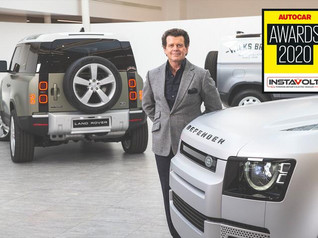 Autocar Awards 2020: Land Rover's Gerry McGovern wins Sturmey Award