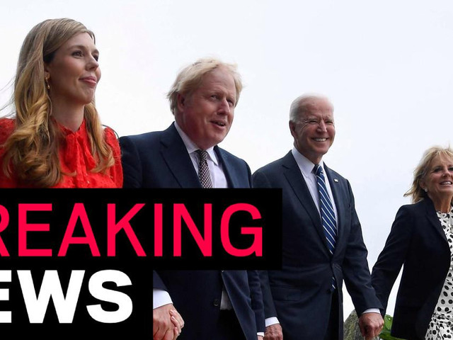 Boris becomes first world leader to meet Biden overseas at G7 summit