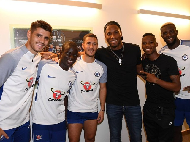Didier Drogba comes back to Chelsea, but just for a visit, probably