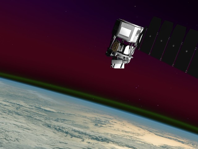 ICON satellite explores the boundary between Earth and space