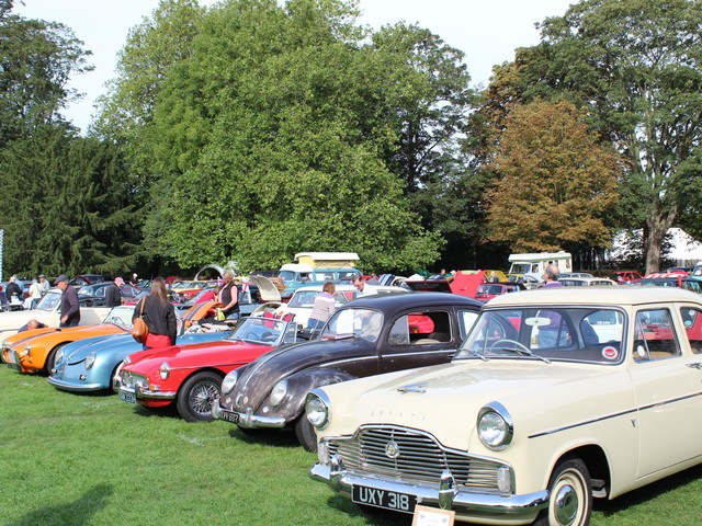 Steeple Vintage Vehicle Gathering for Steeple's steeple