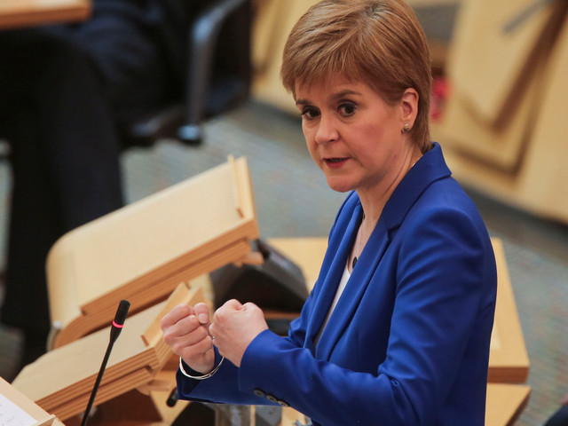 What time is Nicola Sturgeon speaking today? FM to deliver 'four phase' lockdown plan on schools, work &; meeting family
