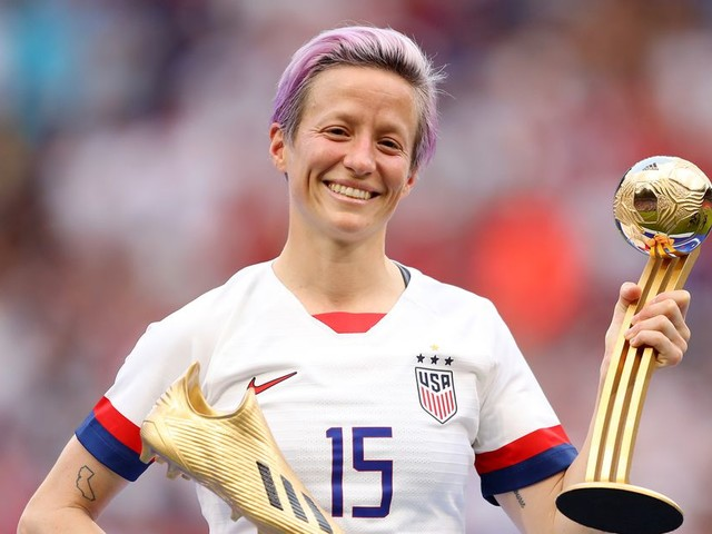Megan Rapinoe wins World Cup Golden Boot and Golden Ball