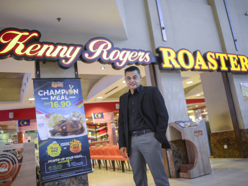 BFood expects Kenny Rogers Roasters chain in Malaysia to be profitable in FY18