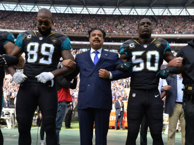 NFL Players Kneel to Protest Anthem in First Game Since Trump Remarks