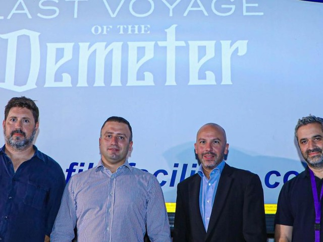 Local filming of 'The Last Voyage of The Demeter' gathers pace