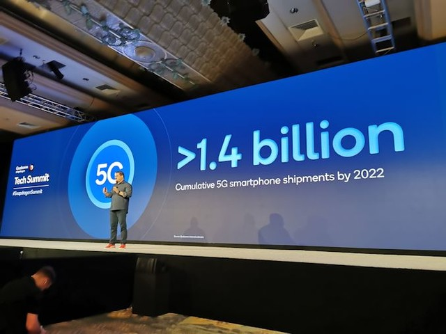 Quick Bytes: Qualcomm's Prediction of 1.4 Billion 5G Smartphones by 2022