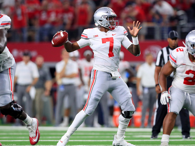 Report: Giants Dine With, Watch Ohio State's Haskins