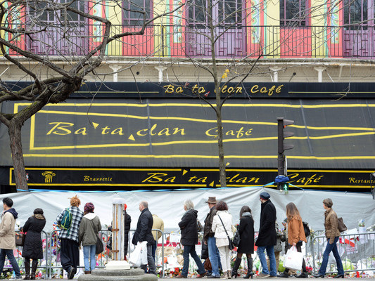 Outrage in Berlin as 'martyrs' art installation includes images of Bataclan and 9/11 attackers
