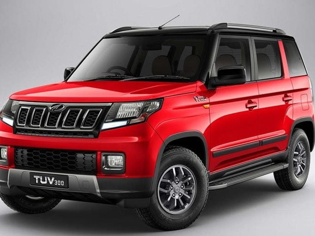 Mahindra TUV300 Facelift Launched; Prices Start At Rs. 8.38 Lakh