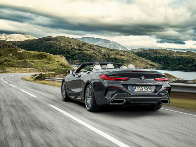 BMW 8 Series Convertible M850i 2019 review