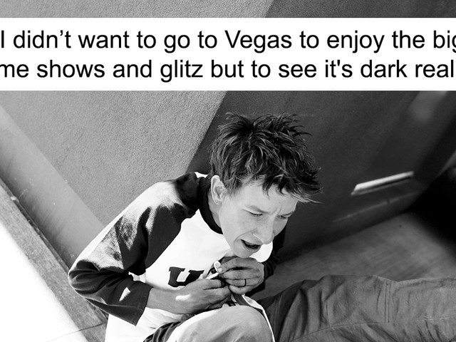 While I Was On My Honeymoon, I Captured The Darker Side Of The Glamorous Las Vegas