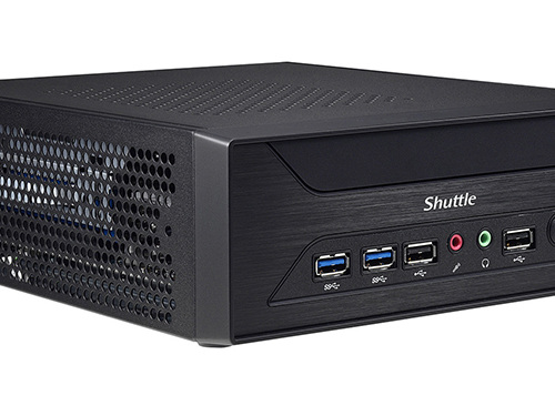 Shuttle Squeezes Desktop Graphics Card into a 3-Liter XH110G SFF PC Barebones