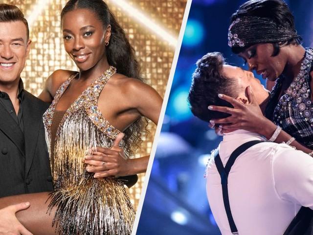 Strictly Come Dancing Star AJ Odudu Addresses Kai Widdrington Romance Reports