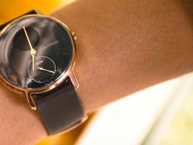 Withings' Steel HR combines the classic look of an analog watch with the features of a smartwatch