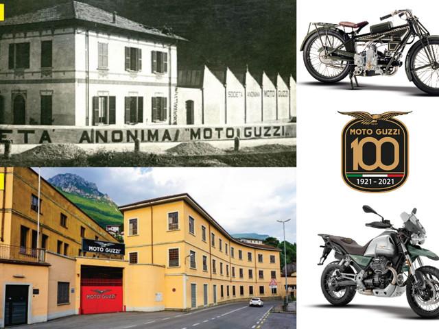 0-100: 100 years of Moto Guzzi
